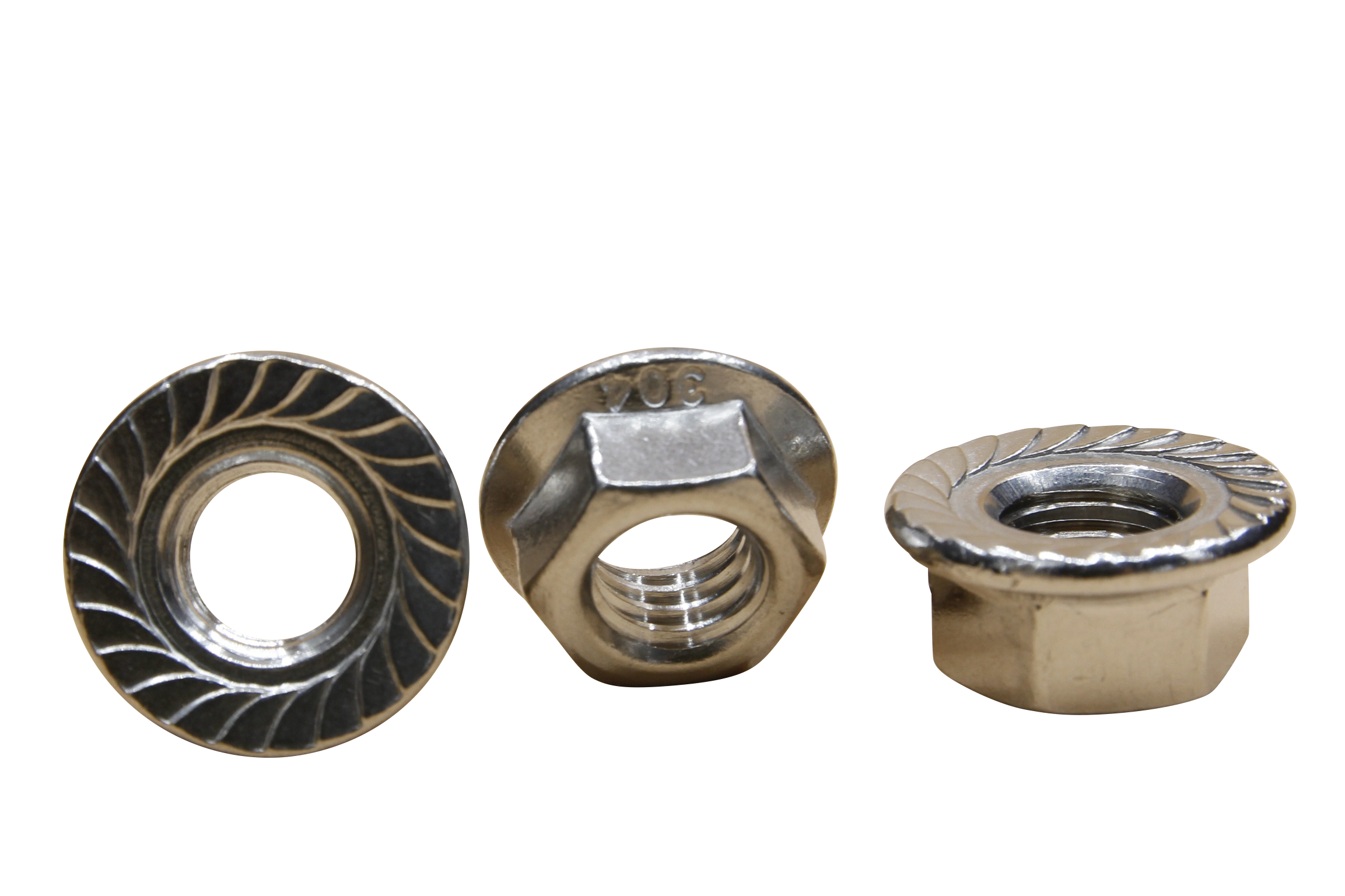 Stainless Flange Nuts
